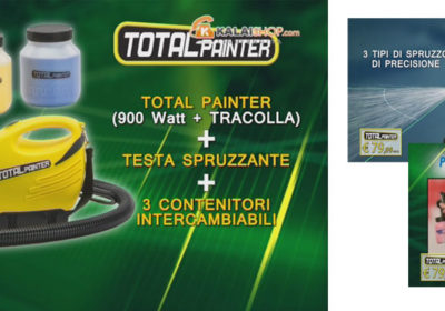 total painter visto in tv